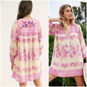 Spell & the Gypsy Coco Lei Tunic Dress Lilac